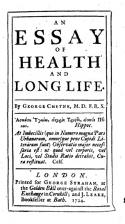 An Essay Of Health And Long Life  Cheyne George   An Essay Of Health And Long Life