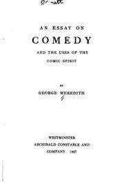 Comedy essay