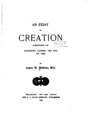 creation a time with no time essay