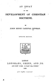 an essay on the development of christian doctrine summary Effective academic writing 3 the researched essay answer key intercultural communication stumbling blocks essay ways to waste time essays natural disasters management essay summary of research paper yesterdayhow to write a goal setting essay writing an observation essay in english essay writing a friend in need is a friend indeed weed hume.