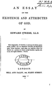 essays on existence of god