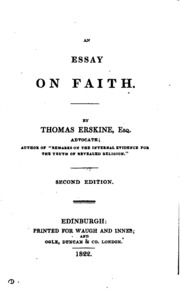 an essay on punctuation robertson j joseph  an essay on faith