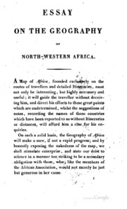 an account of the gold coast of africa a brief history of an essay on the geography of north western africa by t edward bowdich