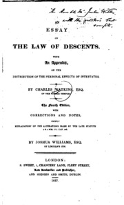 an essay on the law of bailments An essay on the law of bailments [william jones] on amazoncom free shipping on qualifying offers format paperback.