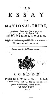 essay on national pride