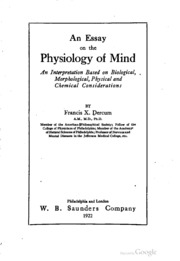 Essay on consciousness