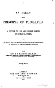 malthuss essay on population