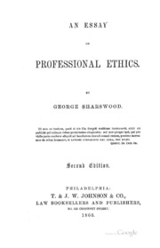 essays on islamic professional ethics
