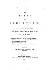 Essay on sculpture