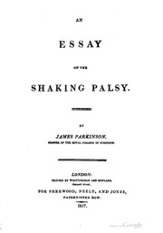 an essay on the shaking palsy tradotto