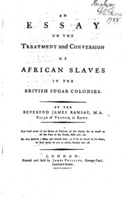 an essay on the treatment and conversion of african slaves The first published african-american worked on his essay on the 'treatment and conversion of african anti-slavery works by a mainstream.
