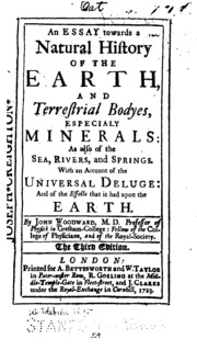 an essay toward a natural history of the earth and terrestrial  an essay towards a natural history of the earth and terrestrial bodies especially minerals as