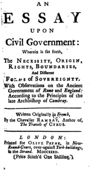 an essay on crimes and punishments voltaire cesare beccaria  an essay upon civil government wherein is set forth the necessity origin rights boundaries