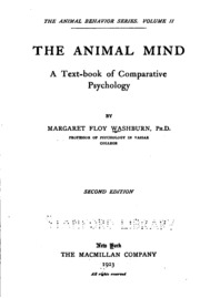 women in psychology margaret washburn Without further preamble: our first amazing lady is margaret floy washburn  and washburn was the first woman to receive a phd in psychology in 1894.
