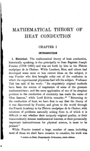 fourier analytical theory of heat pdf