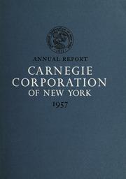 Annual Report, 1957