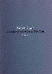 Annual Report, 1975