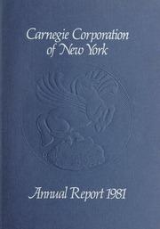 Annual Report, 1981