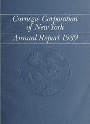 Annual Report, 1989