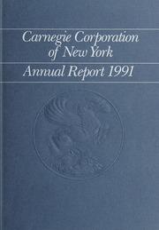 Annual Report, 1991