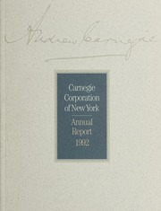 Annual Report, 1992