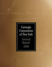 Annual Report, 1999