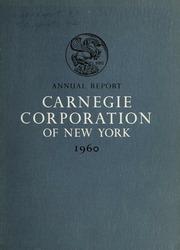 Annual Report, 1960