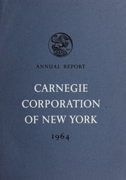 Annual Report, 1964