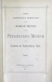 Annual report, 1879