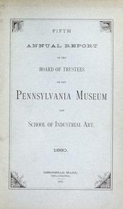 Annual report, 1881