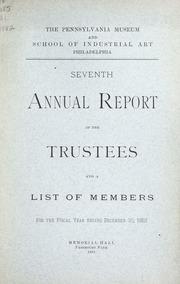 Annual report, 1883