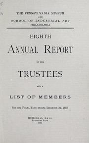 Annual report, 1884