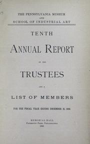 Annual report, 1886
