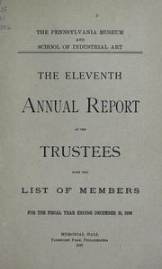 Annual report, 1887