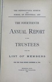 Annual report, 1890