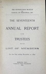 Annual report, 1893