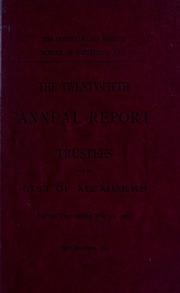 Annual report, 1901