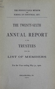 Annual report, 1902