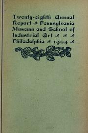 Annual report, 1904