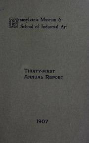 Annual report, 1907