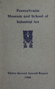 Annual report, 1908
