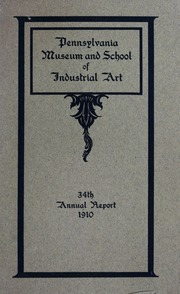 Annual report, 1910