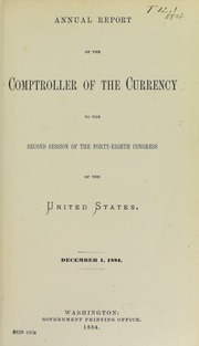 Annual Report of the Comptroller of the Currency (pg. 85)