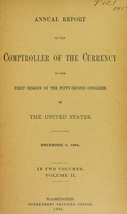 Annual Report of the Comptroller of the Currency (pg. 1,263)