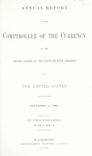 Annual Report of the Comptroller of the Currency to the Second Session of the Fifty-Seventh Congress of the United States: Volume I (pg. 338)