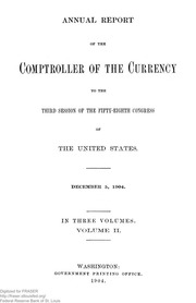 Annual Report of the Comptroller of the Currency (pg. 1,837)