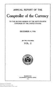 Annual Report of the Comptroller of the Currency (pg. 528)