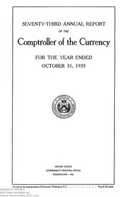 Annual Report of the Comptroller of the Currency (pg. 381)