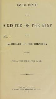U.S. Mint Report (1879)