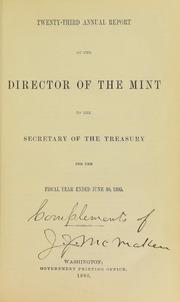 U.S. Mint Report (1895)